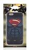 Superman iPhone 6 / 6S Dark Rubber Kılıf - Resim 2