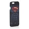 Superman iPhone 6 / 6S Dark Rubber Kılıf - Resim 1
