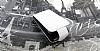 LG Optimus 3D P920 Beyaz Kapaklı Deri Kılıf - Resim 2
