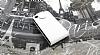 LG Optimus 3D P920 Beyaz Kapaklı Deri Kılıf - Resim 3