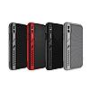 Dafoni Element Shield iPhone X / XS Standlı Ultra Koruma Deri Siyah Kılıf - Resim 7