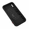 Dafoni Element Shield iPhone X / XS Standlı Ultra Koruma Deri Siyah Kılıf - Resim 2