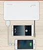 Totu Design 6000 mah Powerbank Dahili Micro USB Kablolu Beyaz Yedek Batarya - Resim 4