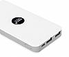 Totu Design 8000 mAh Powerbank Beyaz Yedek Batarya - Resim 6