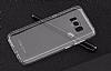 Totu Design Airbag Samsung Galaxy S8 Şeffaf Silikon Kılıf - Resim 1