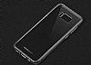 Totu Design Crystal Soft Samsung Galaxy S8 Şeffaf Siyah Silikon Kenarlı Ultra İnce Rubber Kılıf - Resim 6