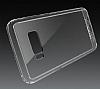 Totu Design Crystal Soft Samsung Galaxy S8 Şeffaf Siyah Silikon Kenarlı Ultra İnce Rubber Kılıf - Resim 1