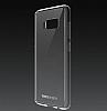 Totu Design Crystal Soft Samsung Galaxy S8 Şeffaf Silikon Kenarlı Ultra İnce Rubber Kılıf - Resim 5