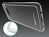 Totu Design Crystal Soft Samsung Galaxy S8 Şeffaf Siyah Silikon Kenarlı Ultra İnce Rubber Kılıf - Resim 7