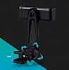 Totu Design CT04 LG G6 Siyah Araç Havalandırma Tutucu - Resim 7