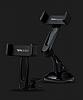 Totu Design CT04 LG G6 Siyah Araç Havalandırma Tutucu - Resim 4