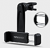 Totu Design CT04 Nokia 6 Siyah Araç Havalandırma Tutucu - Resim 3