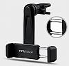 Totu Design CT04 Samsung Galaxy Note 4 Siyah Araç Havalandırma Tutucu - Resim 2