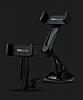Totu Design CT04 Sony Xperia XA1 Siyah Araç Havalandırma Tutucu - Resim 7