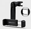 Totu Design CT04 Sony Xperia XA1 Ultra Siyah Araç Havalandırma Tutucu - Resim 3