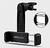 Totu Design CT04 Sony Xperia XZ Siyah Araç Havalandırma Tutucu - Resim 2