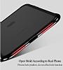Totu Design Evoque Series iPhone X / XS Metal Bumper Çerçeve Dark Silver Kılıf - Resim 6
