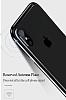 Totu Design Evoque Series iPhone X / XS Metal Bumper Çerçeve Dark Silver Kılıf - Resim 3