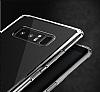 Totu Design Fairy Samsung Galaxy Note 8 Silikon Kenarlı Şeffaf Rubber Kılıf - Resim 2