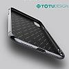 Totu Design Furios iPhone X 3ü 1 Arada Beyaz Rubber Kılıf - Resim 3