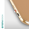 Totu Design Furios iPhone X / XS 3ü 1 Arada Gold Rubber Kılıf - Resim 2
