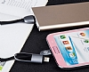 Totu Design Good Partner Lightning & Micro USB Rose Gold Data Kablosu 1m - Resim: 1