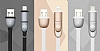 Totu Design Good Partner Lightning & Micro USB Rose Gold Data Kablosu 1m - Resim 10