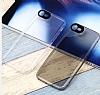 Totu Design iPhone 7 Kamera Korumalı Buzlu Beyaz Silikon Kılıf - Resim 3