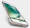 Totu Design Keen iPhone 7 Plus / 8 Plus Standlı Rose Gold Silikon Kılıf - Resim 4