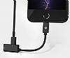Totu Design Lightning Kulaklık ve Şarj Girişi Çoklayıcı Adaptör - Resim 6