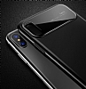 Totu Design Magic Mirror iPhone X Siyah Rubber Kılıf - Resim 4