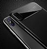 Totu Design Magic Mirror iPhone X Kırmızı Rubber Kılıf - Resim 3
