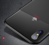 Totu Design Magic Mirror iPhone X / XS Siyah Rubber Kılıf - Resim 1