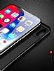 Totu Design Magic Mirror iPhone X Beyaz Rubber Kılıf - Resim 1