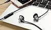 Totu Design Melody Series Mikrofonlu Kulakiçi Dark Silver Kulaklık - Resim 6