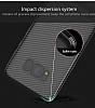 Totu Design Samsung Galaxy A7 2017 Standlı Karbon Rubber Kılıf - Resim 2