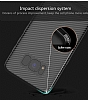 Totu Design Samsung Galaxy A5 2017 Standlı Karbon Siyah Rubber Kılıf - Resim 2