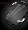 Totu Design Samsung Galaxy Note 8 Kamera Korumalı Silikon Kenarlı Siyah Rubber Kılıf - Resim 5