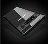 Totu Design Samsung Galaxy Note 8 Kamera Korumalı Silikon Kenarlı Siyah Rubber Kılıf - Resim 2