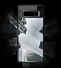 Totu Design Samsung Galaxy Note 8 Kamera Korumalı Silikon Kenarlı Siyah Rubber Kılıf - Resim 7