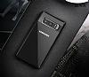 Totu Design Samsung Galaxy Note 8 Kamera Korumalı Silikon Kenarlı Siyah Rubber Kılıf - Resim 3