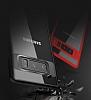 Totu Design Samsung Galaxy Note 8 Kamera Korumalı Silikon Kenarlı Siyah Rubber Kılıf - Resim 6