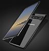 Totu Design Samsung Galaxy Note 8 Kamera Korumalı Silikon Kenarlı Siyah Rubber Kılıf - Resim 4