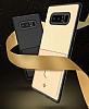 Totu Design Samsung Galaxy Note 8 Kartlıklı Siyah Rubber Kılıf - Resim 2