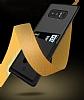 Totu Design Samsung Galaxy Note 8 Kartlıklı Siyah Rubber Kılıf - Resim 4