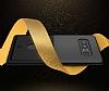 Totu Design Samsung Galaxy Note 8 Kartlıklı Siyah Rubber Kılıf - Resim 3