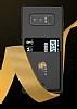 Totu Design Samsung Galaxy Note 8 Kartlıklı Siyah Rubber Kılıf - Resim 5