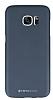 Totu Design Samsung Galaxy S7 edge Dark Silver Sert Rubber Kılıf