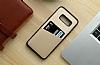 Totu Design Samsung Galaxy S8 Kartlıklı Gold Rubber Kılıf - Resim 2
