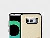 Totu Design Samsung Galaxy S8 Kartlıklı Gold Rubber Kılıf - Resim 4